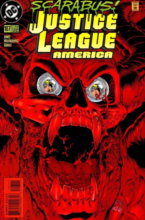 Justice League America issue 107