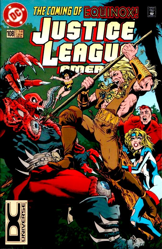 Justice League America issue 108