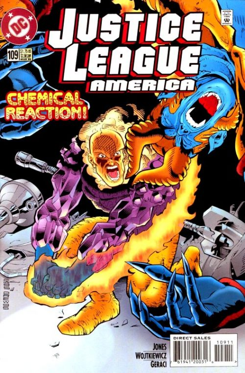 Justice League America issue 109