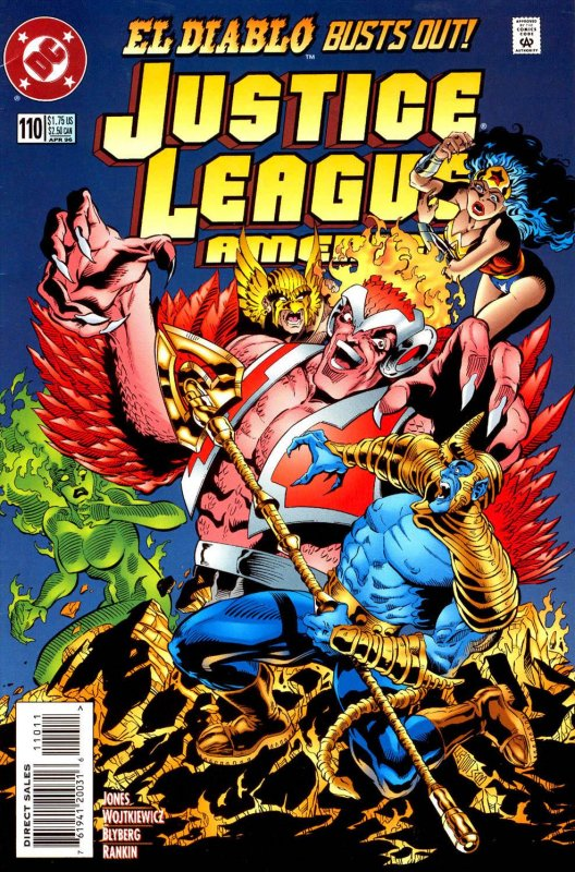 Justice League America issue 110