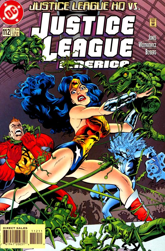 Justice League America issue 112