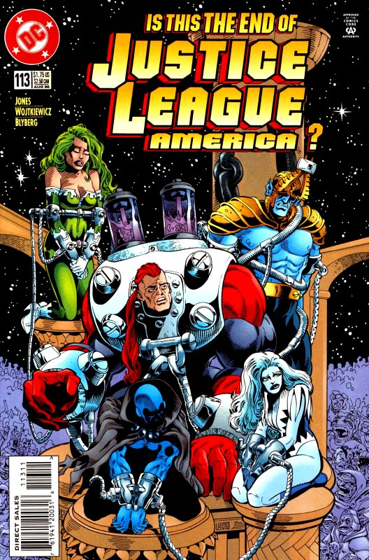 Justice League America issue 113