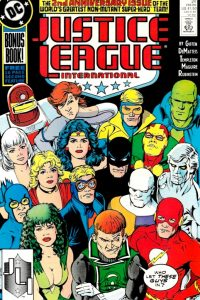 Justice League International issue 24