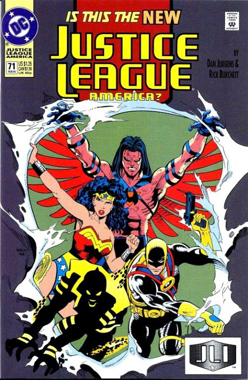 Justice League America issue 71