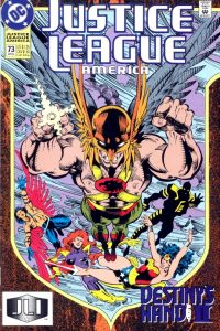 Justice League America issue 73