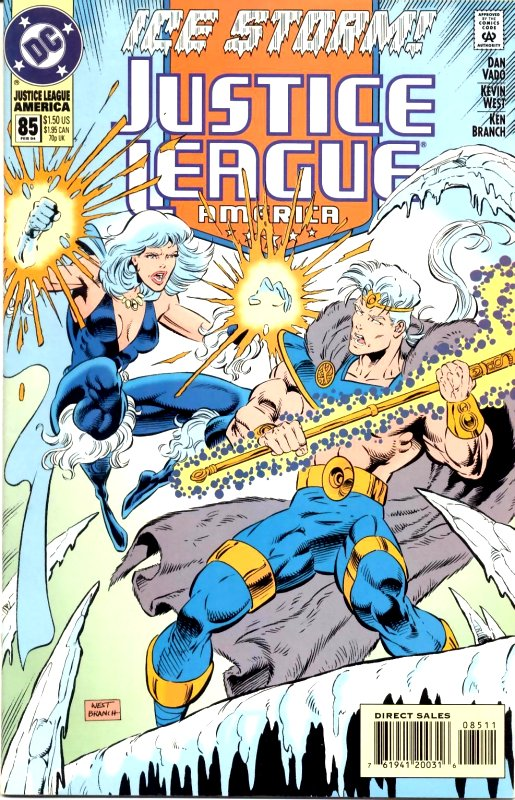 Justice League America issue 85