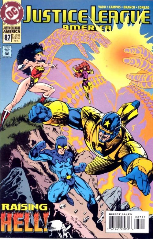 Justice League America issue 87