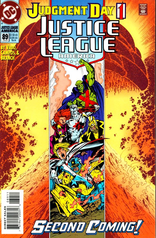 Justice League America issue 89
