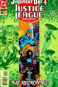 Justice League America issue 90