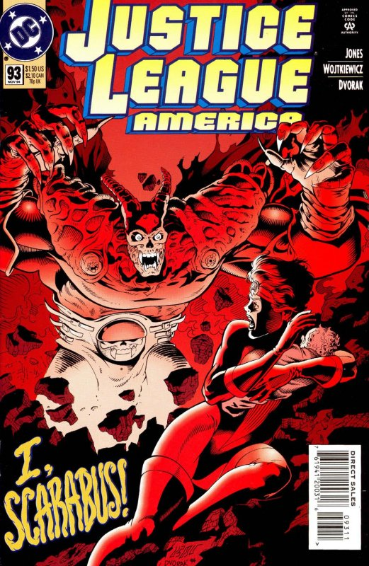 Justice League America issue 93