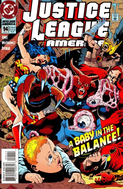 Justice League America issue 94