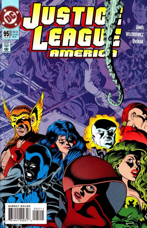 Justice League America issue 95
