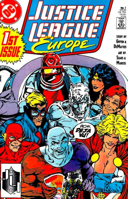 Justice League Europe issue 1