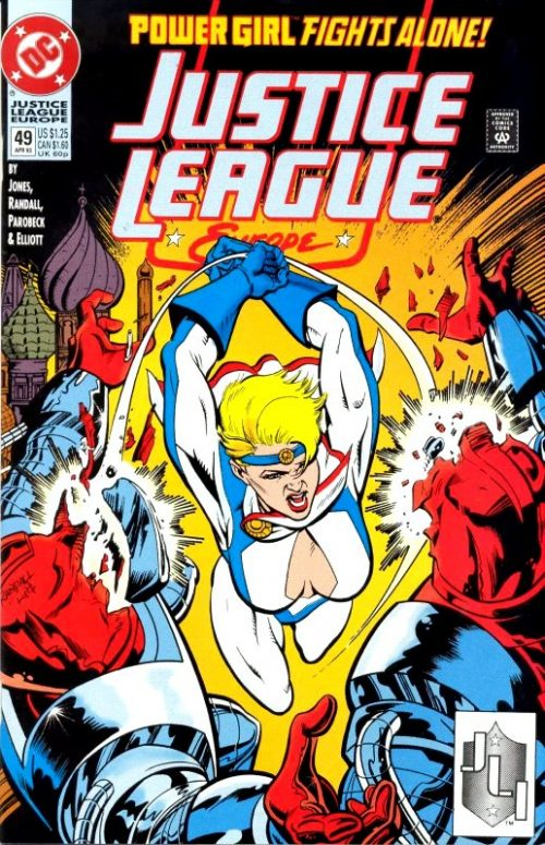 Justice League Europe issue 49