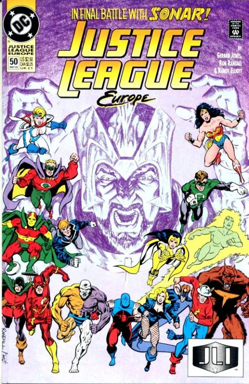 Justice League Europe issue 50