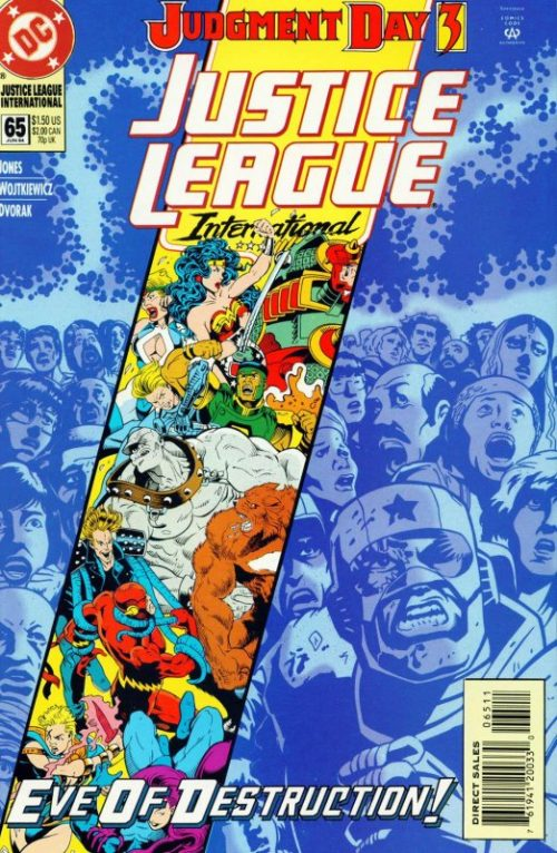 Justice League International Issue 65
