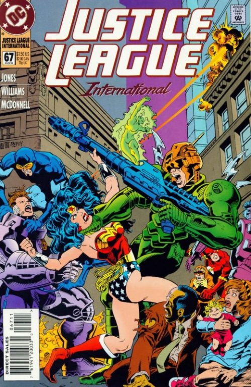 Justice League International issue 67