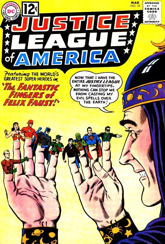 Justice League of America volume one issue 10
