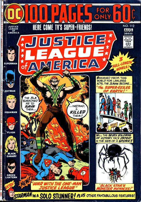 Justice League of America volume one issue 112