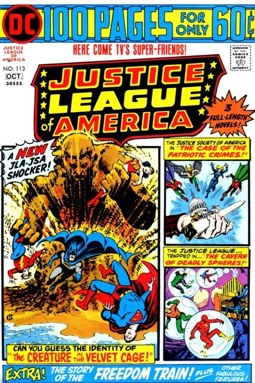 Justice League of America volume one issue 113