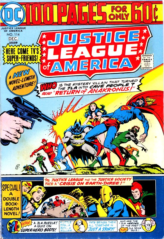 Justice League of America volume one issue 114