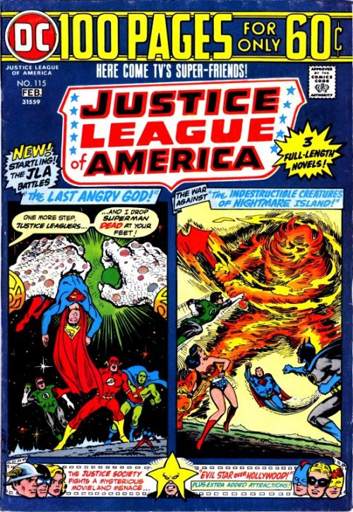 Justice League of America volume one issue 115