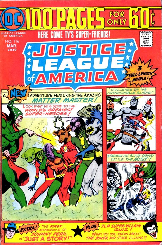 Justice League of America volume one issue 116