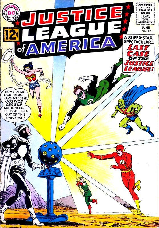 Justice League of America volume one issue 12