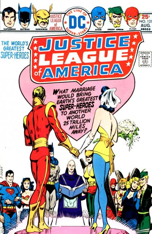 Justice League of America volume one issue 121