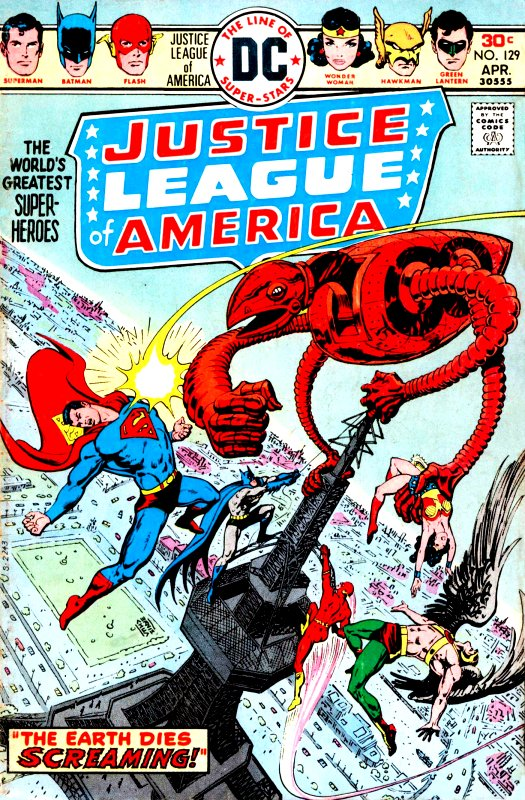 Justice League of America volume one issue 129