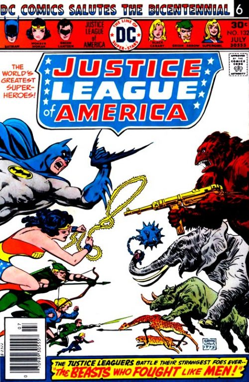 Justice League of America volume one issue 132