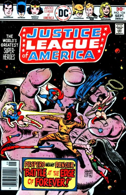 Justice league of America volume one issue 134