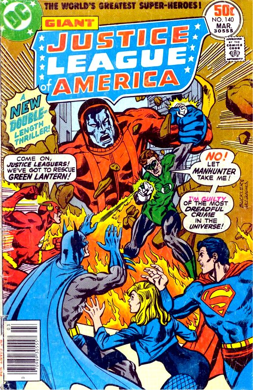 Justice League of America volume one issue 140