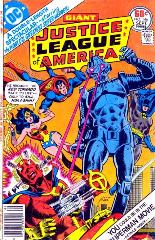 Justice League of America volume one issue 146