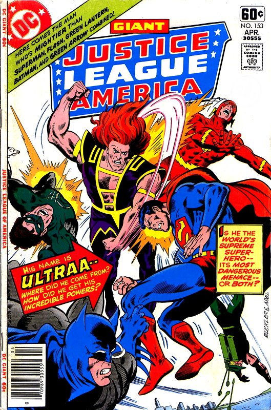 Justice League of America volume one issue 153