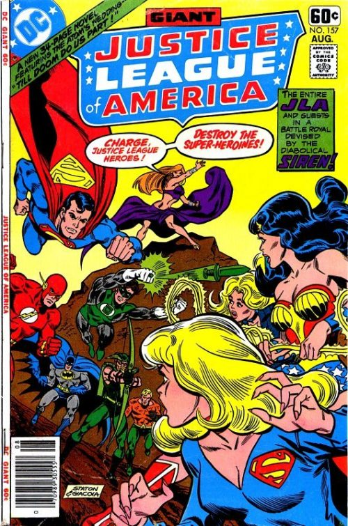 Justice League of America volume one issue 157