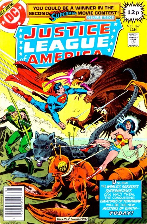 Justice League of America volume one issue 162