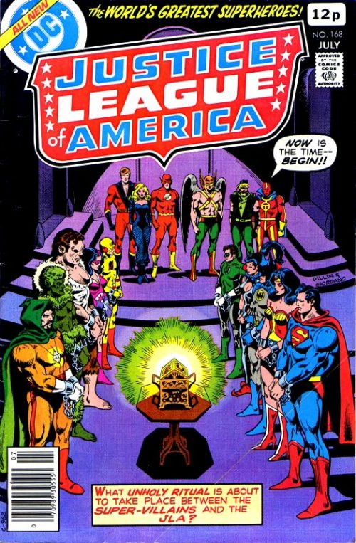 Justice League of America volume one issue 168