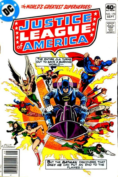 Justice League of America volume one issue 170