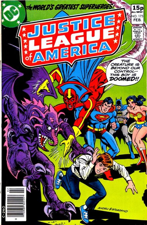 Justice League of America volume one issue 175