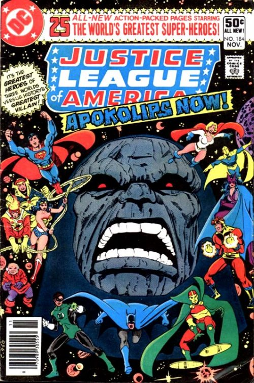 Justice League of America volume One issue 184