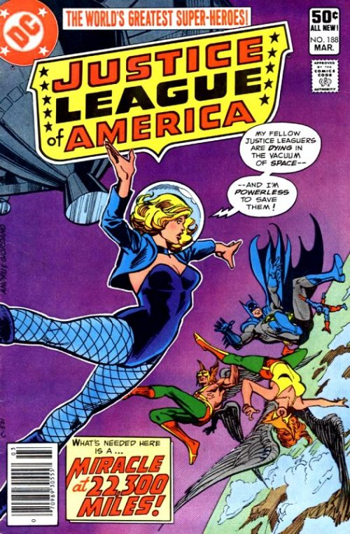Justice League of America volume one issue 188