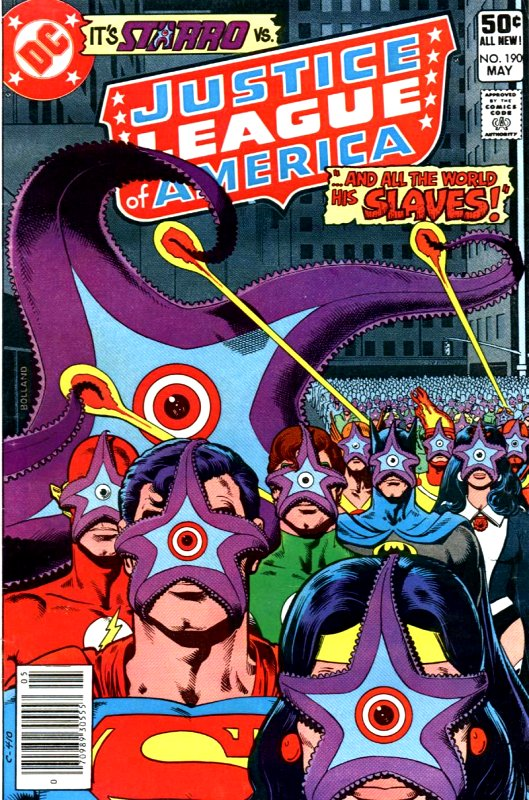 Justice League of America volume one issue 190