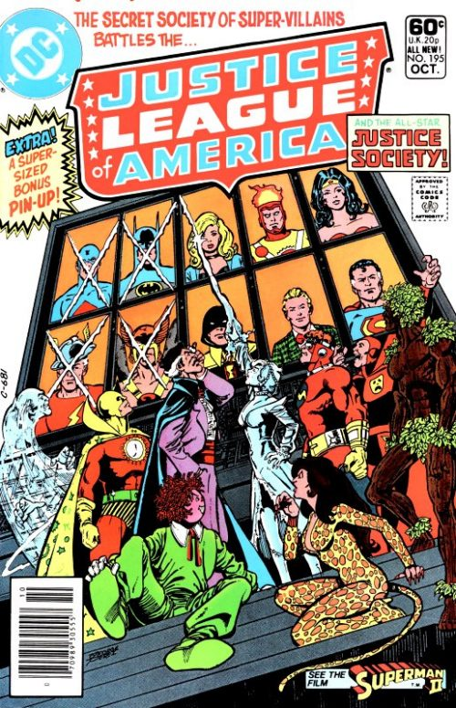 Justice League of America volume one issue 195