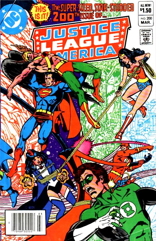 Justice League of America volume one issue 200