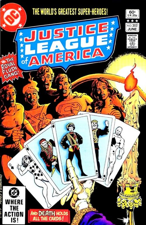 Justice League of America volume one issue 203