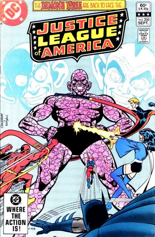 Justice League of America volume one issue 206