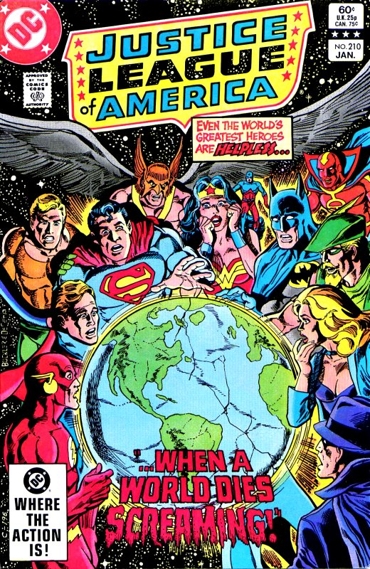 Justice League of America volume one issue 210