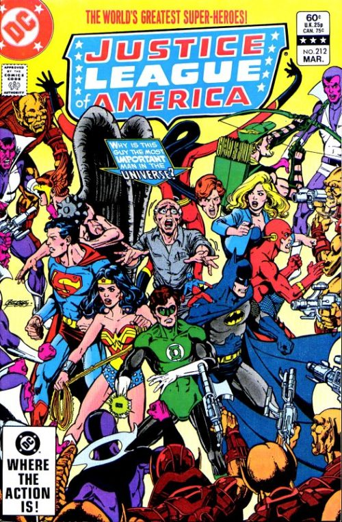 Justice League of America volume one issue 212