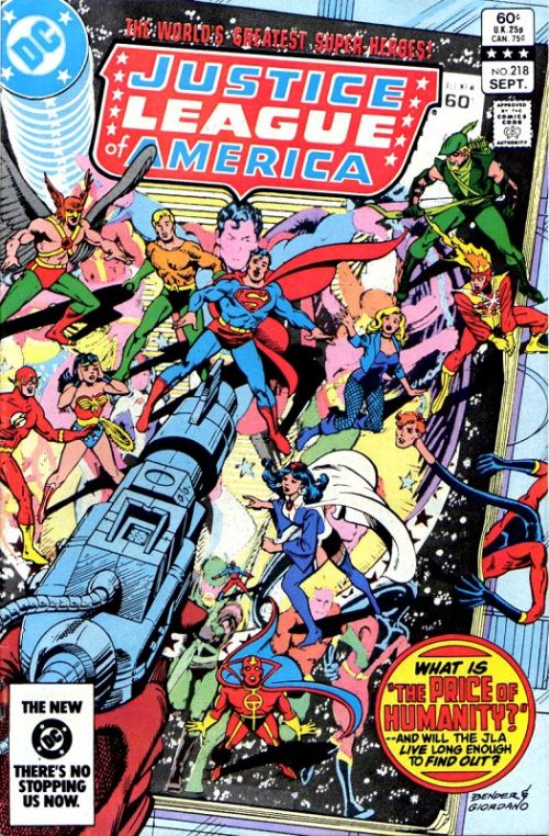 Justice League of America volume one issue 218